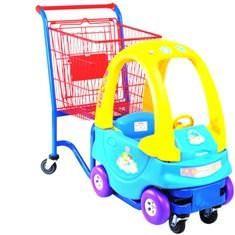 Детская тележка-автомобильчик, 1280х580х1010