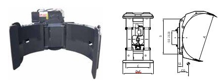 Захваты для рулонов CR1666
