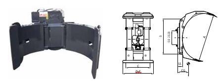 Захваты для рулонов CR1680