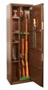 Оружейный сейф на 3 ружья с отделением под патроны