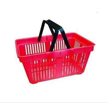 Покупательская корзина из пластика