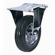Колесные опоры промышленные усиленные неповоротные 90112501, D 125 мм.